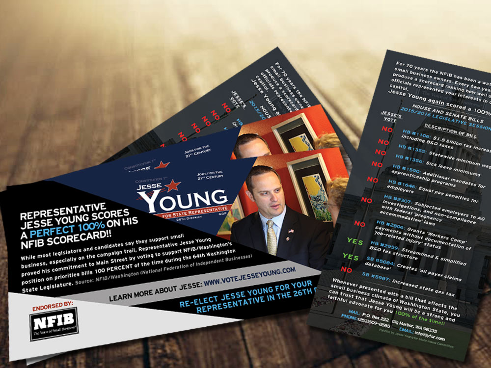 Jesse Young business Flyer