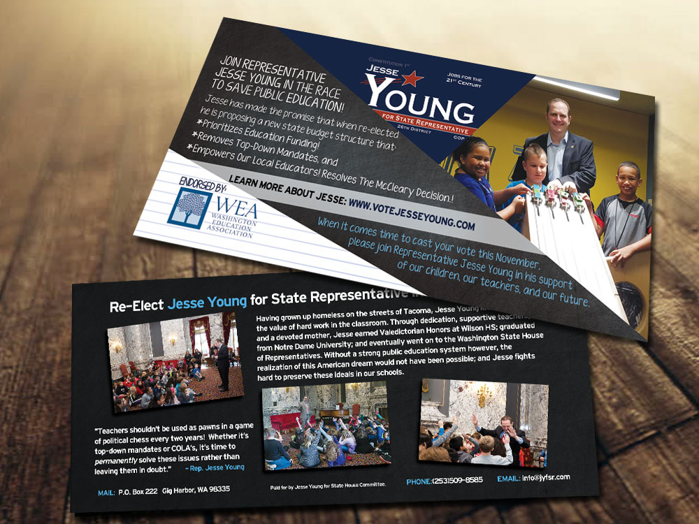 State Rep. Jesse Young Education Flyer