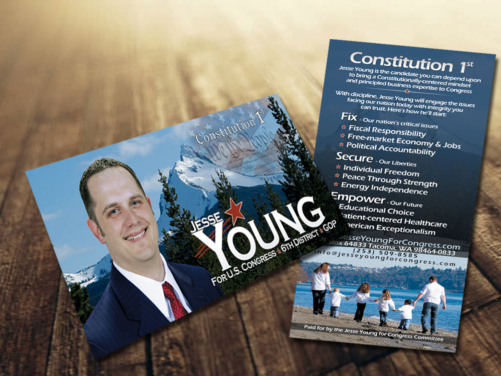 Jesse Young For congress Flyer