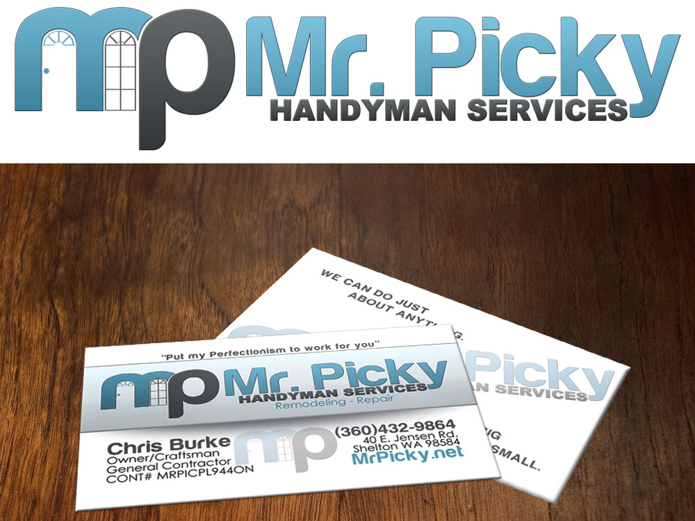mr picky  Business Card