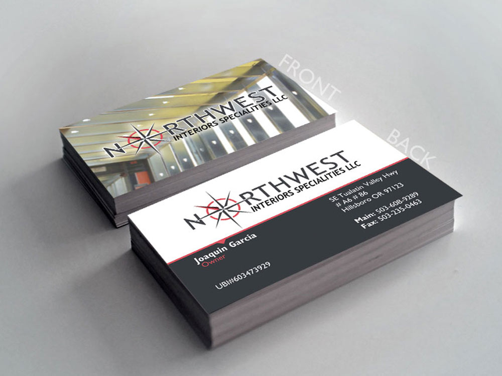 Northwest Interior Business Card
